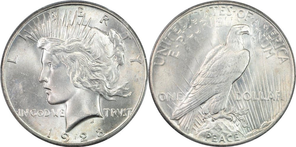 Peace Dollar MS-65 Condition