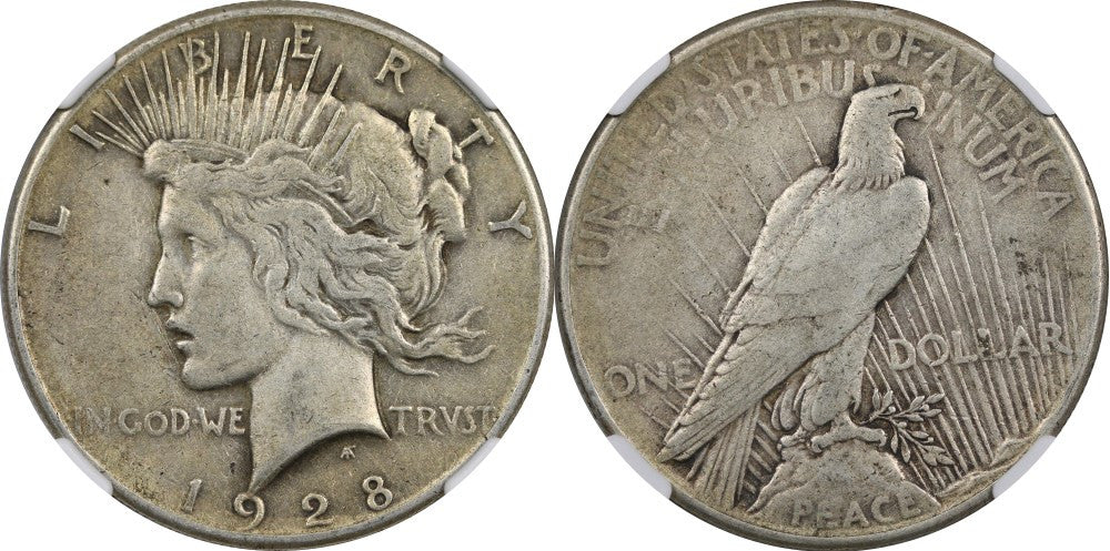 Peace Dollar Very Fine Condition
