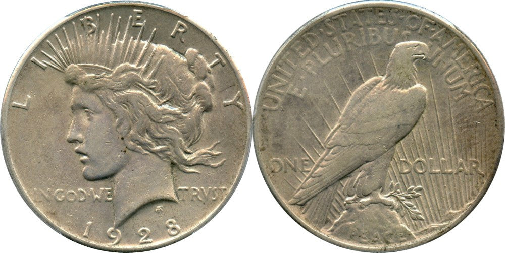 Peace Dollar Extremely Fine Condition
