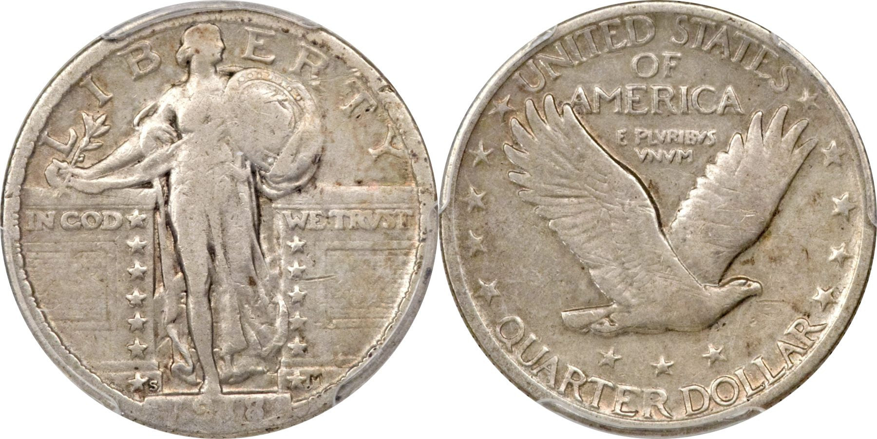 Standing Liberty Quarter Fine Condition