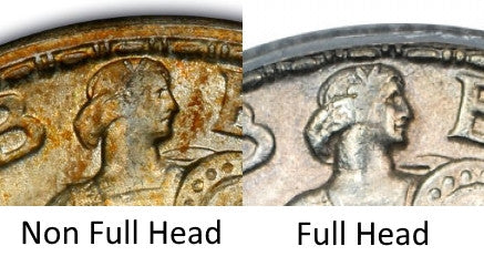 Standing Liberty Quarter Full Head