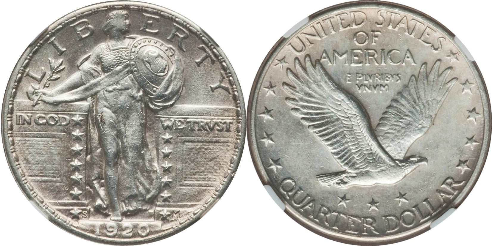 Standing Liberty Quarter MS-60 Condition