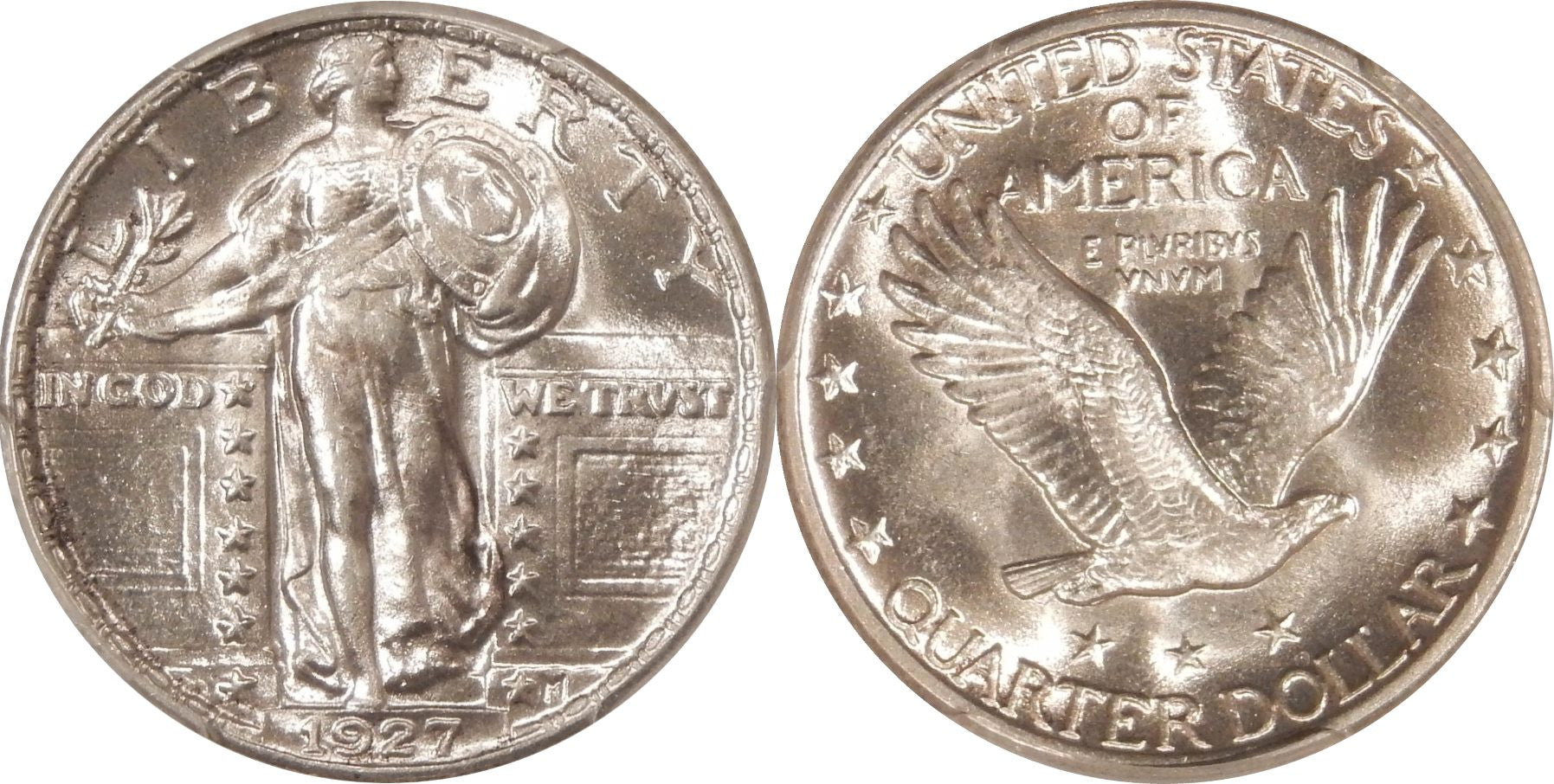 Standing Liberty Quarter MS-63 Condition