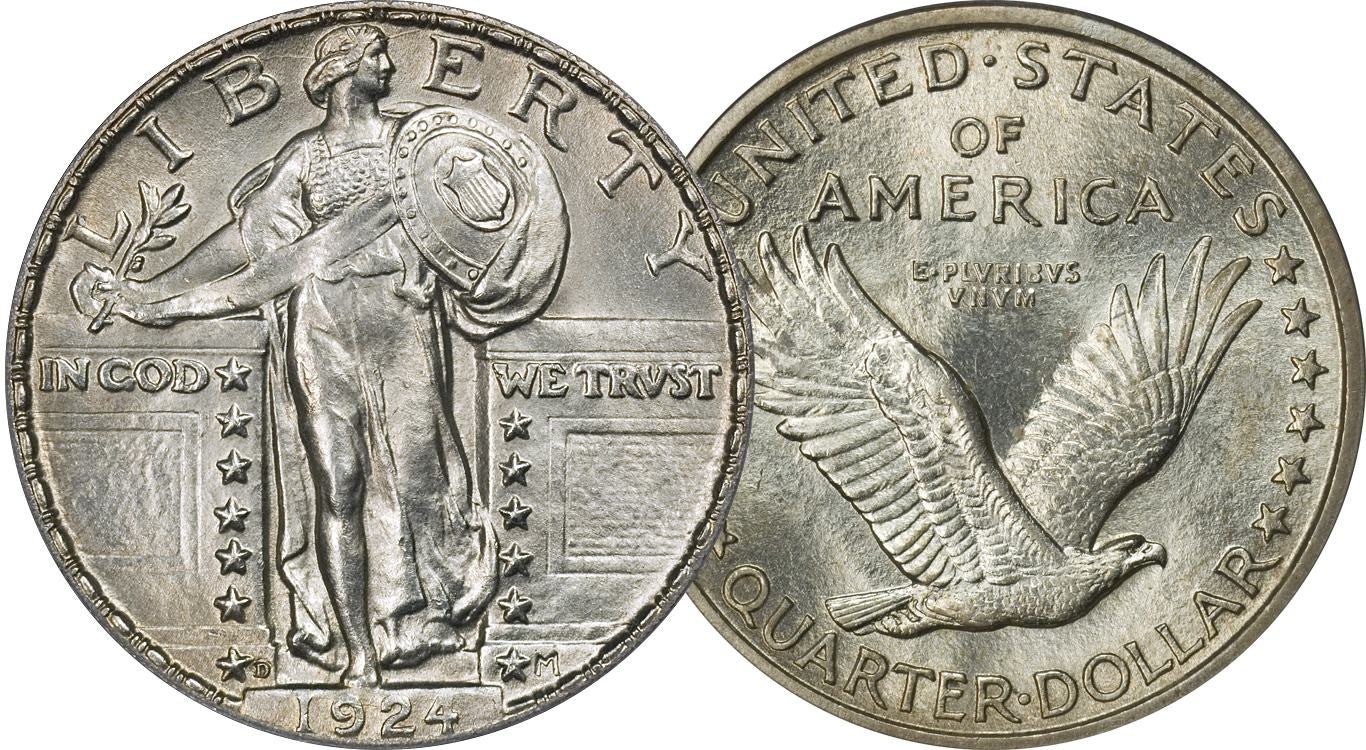 Standing Liberty Quarter Coin