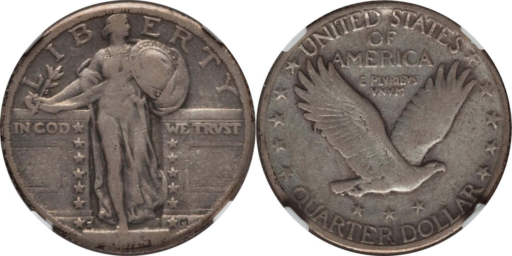 Standing Liberty Quarter VG Condition