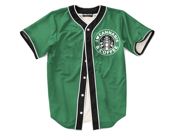 Weed and Coffee Jersey