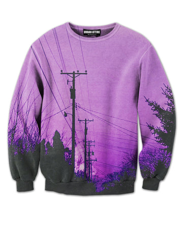 Purple Skies Crewneck