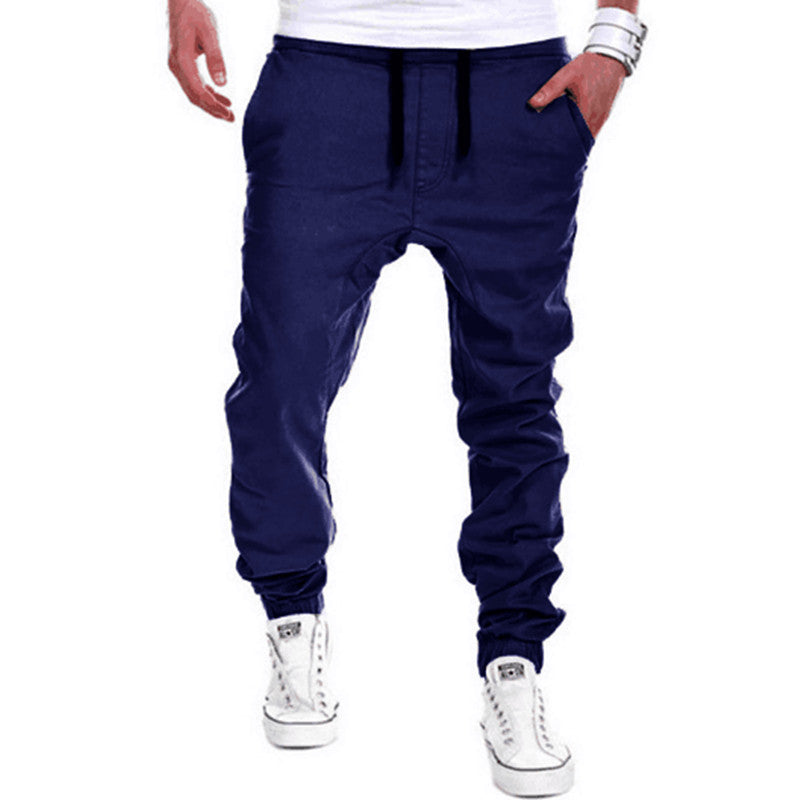 Navy Blue Casual Joggers