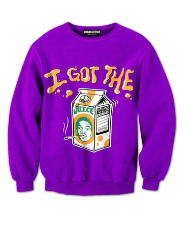 I got the Juice Crewneck