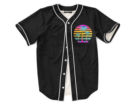 Retro Palm Tree Jersey