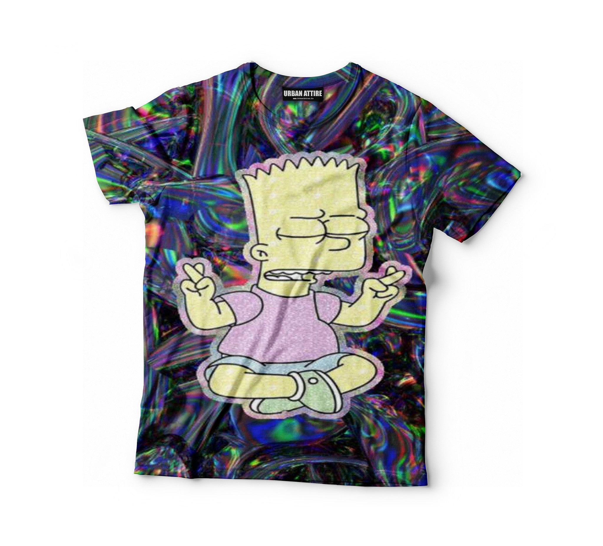 Meditate Bart Shirt