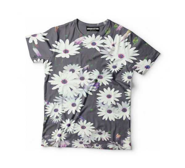 White Flowers Shirt