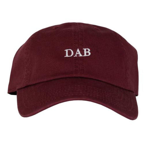 DAB Dad Hat (Maroon)