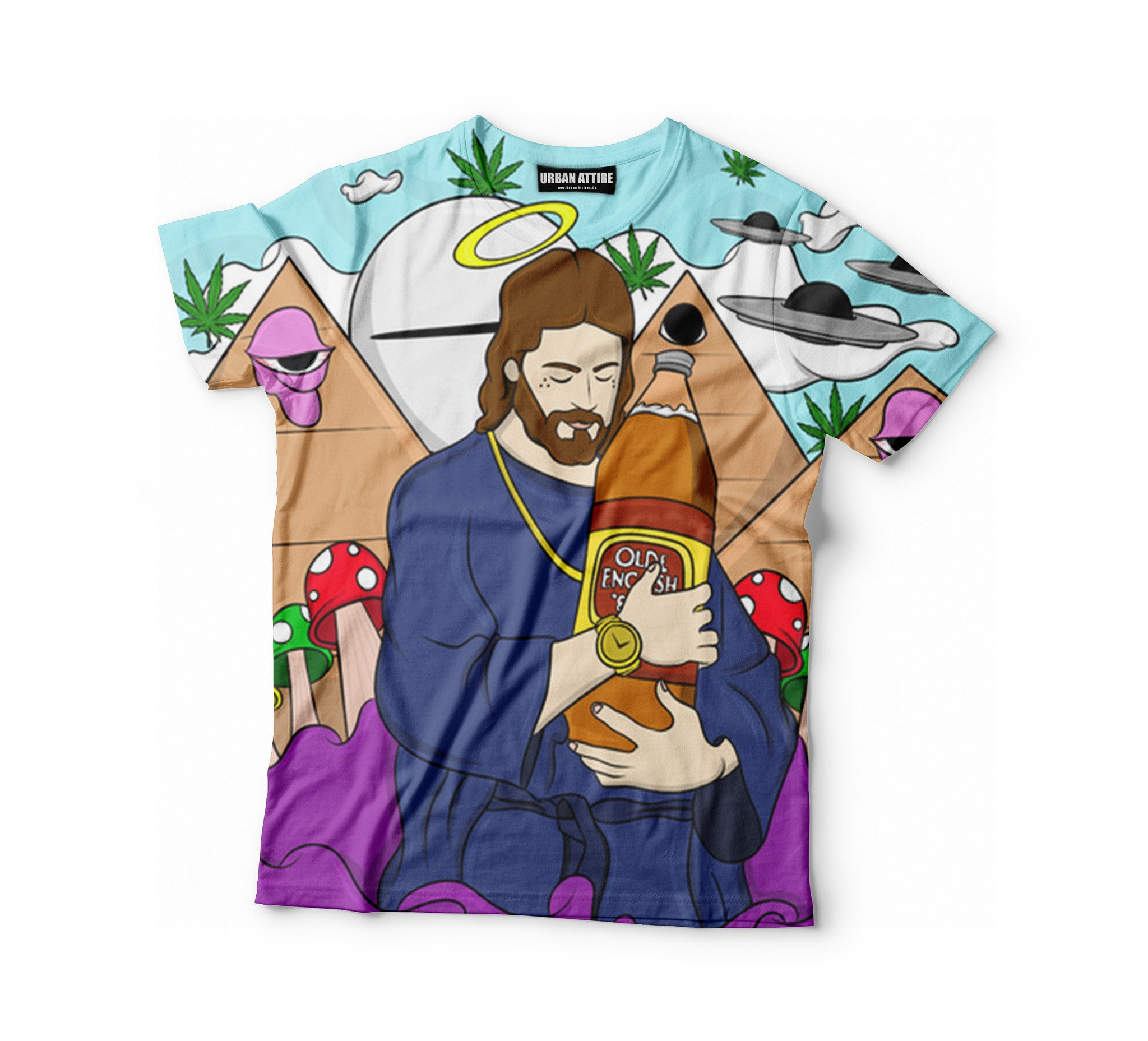 Trippy Jesus Shirt