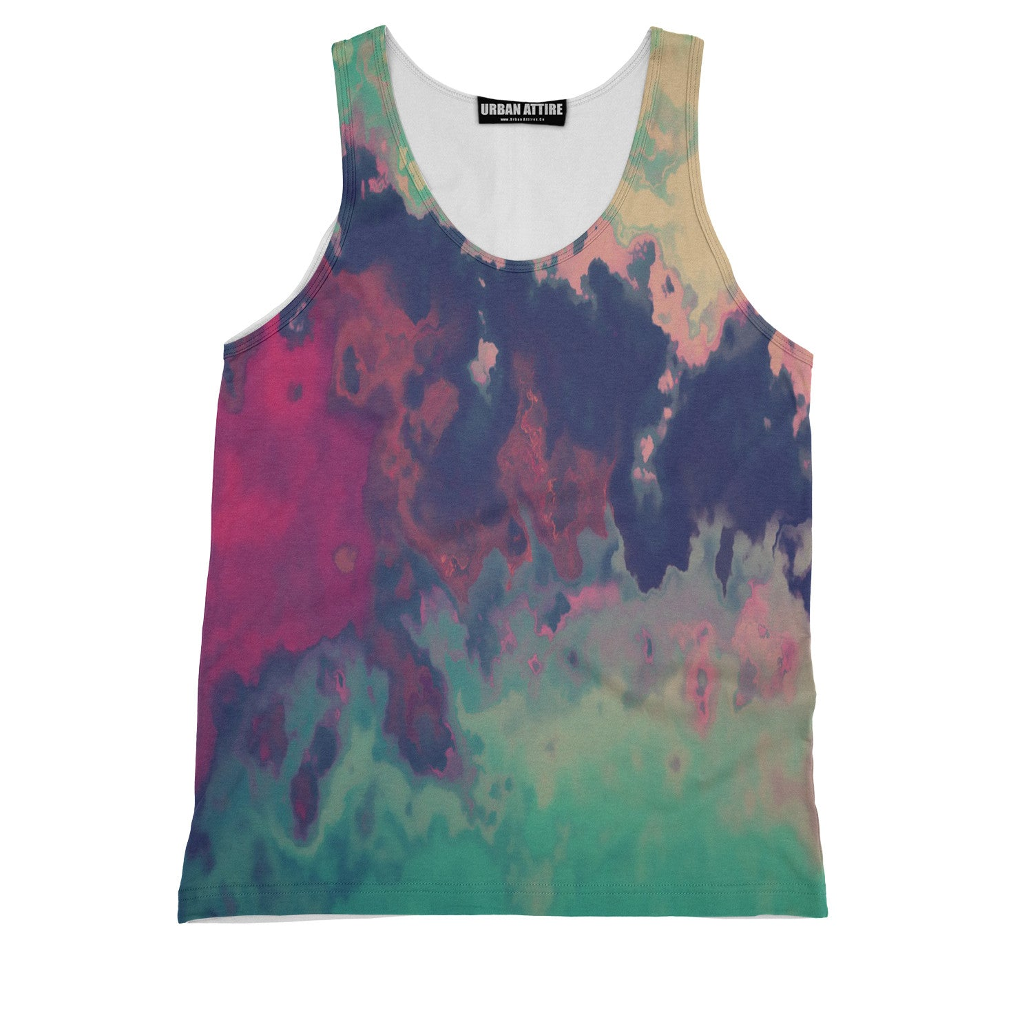 Colorful Fog Tank Top