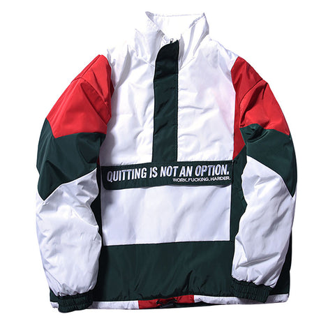 Quitting is not an option Jacket