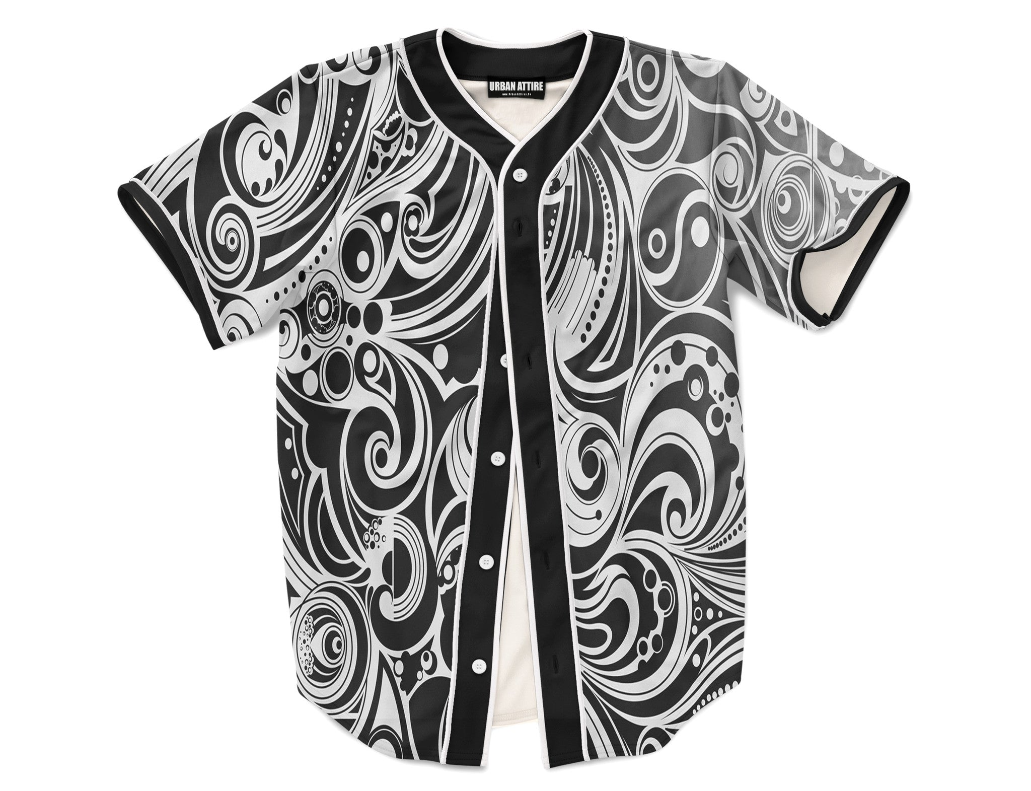 White Tribal Jersey