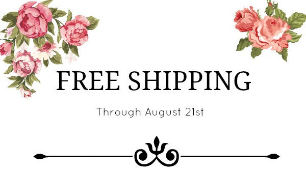 Saying Goodbye to Summer with Free Shipping!