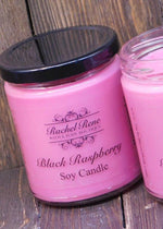 Black Raspberry Soy Candle