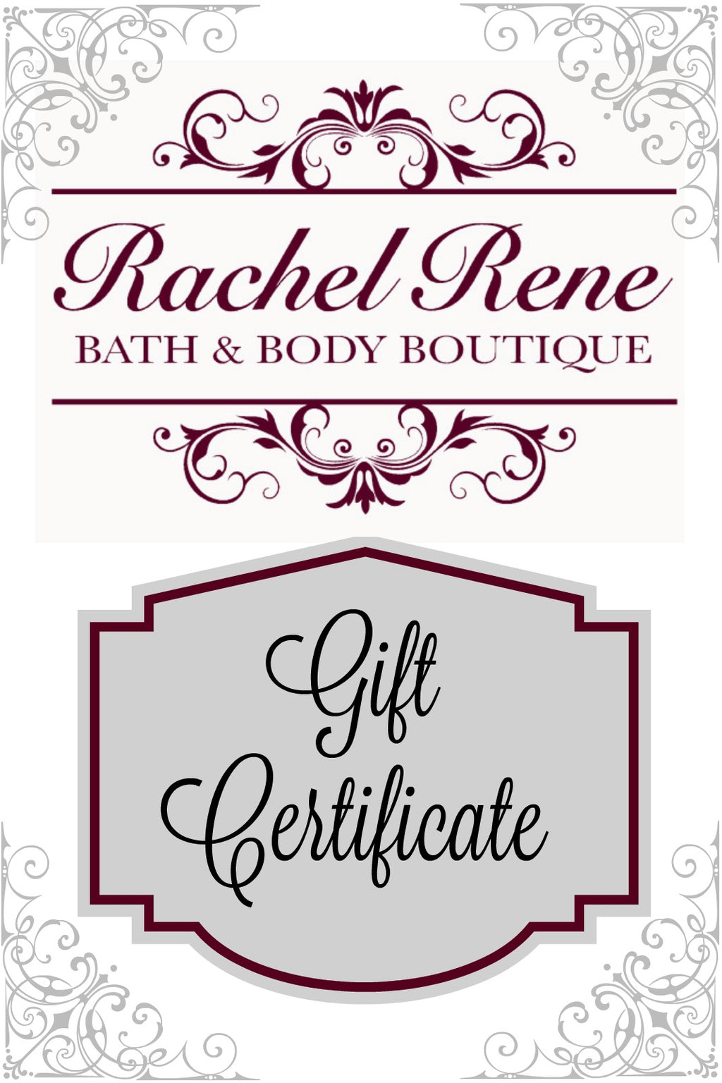"Image ID: Text that says ""Gift Certificate"""