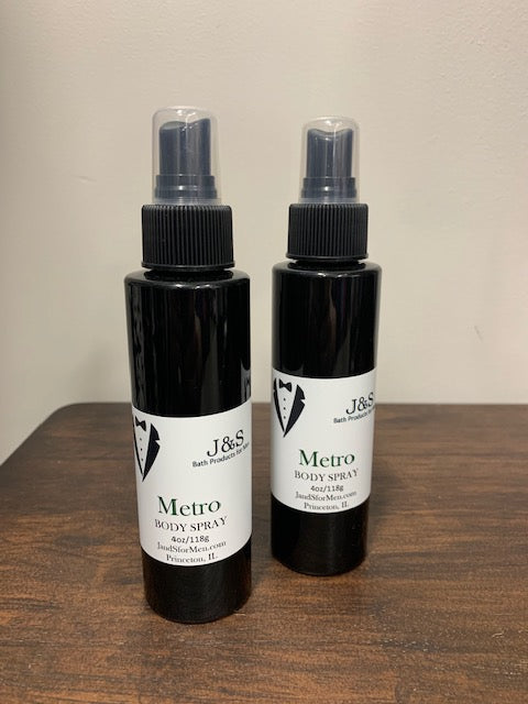 Metro - 4oz Body Spray