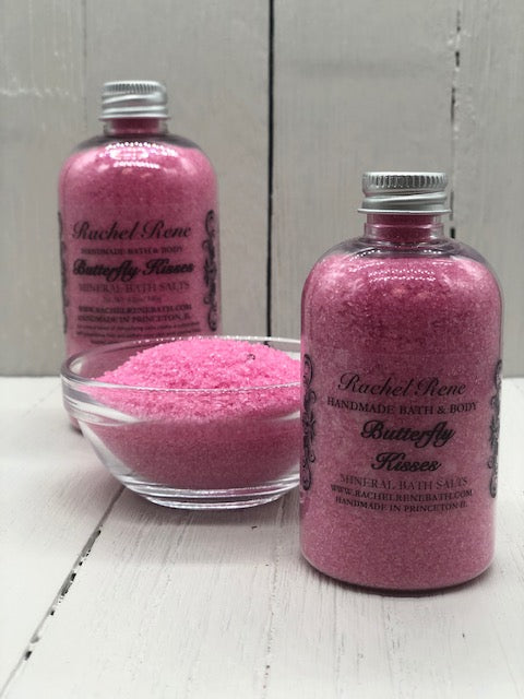 Butterfly Kisses - Mineral Bath Salts