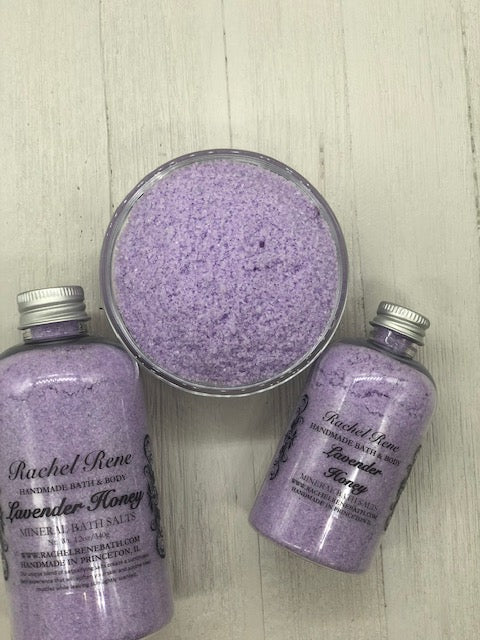 Lavender Honey - Mineral Bath Salts