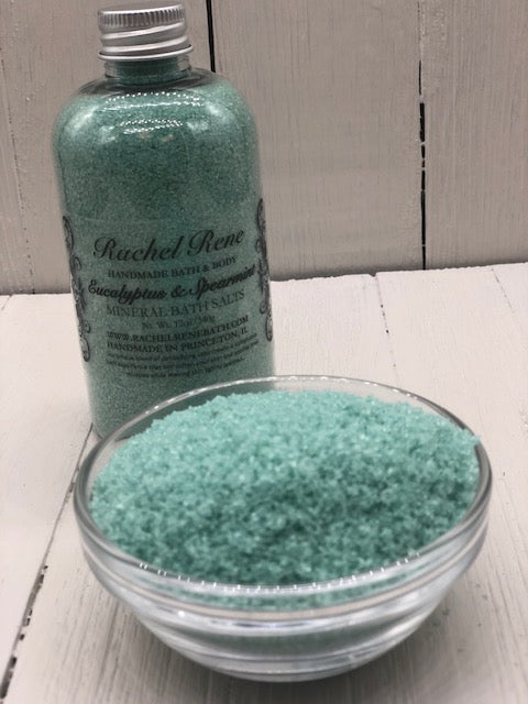 Eucalyptus & Spearmint - Mineral Bath Salts