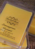 Lemongrass Coconut Soy Wax Melts
