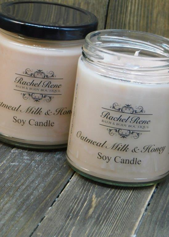 Oatmeal, Milk & Honey Soy Candle