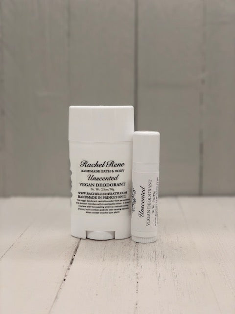 Unscented - Vegan Deodorant Stick