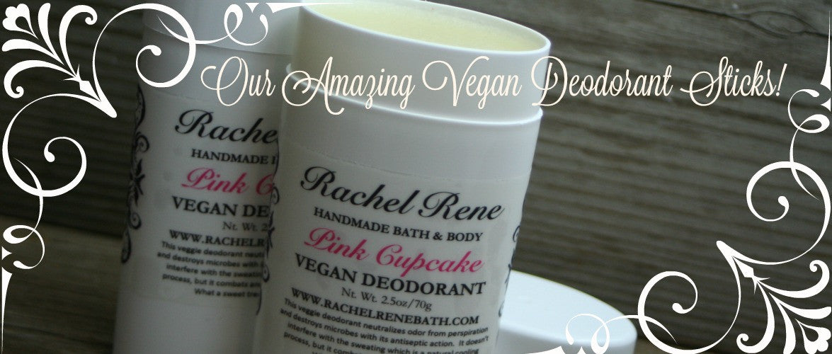 Vegan Deodorant Sticks