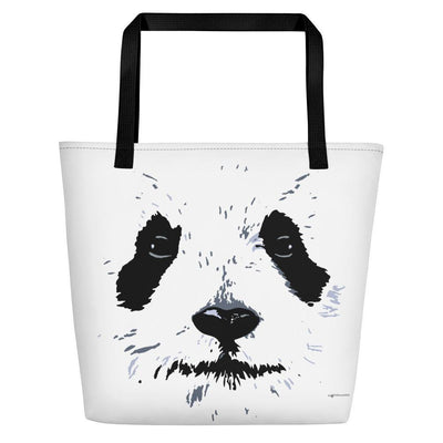 Panda Beach Bag Cute Bag For The Beach For Panda Lovers-Beach Bags-4Endangered