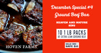 December Special #4- Ground Beef Box