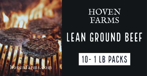 10lb Bulk Pack LEAN Ground Beef