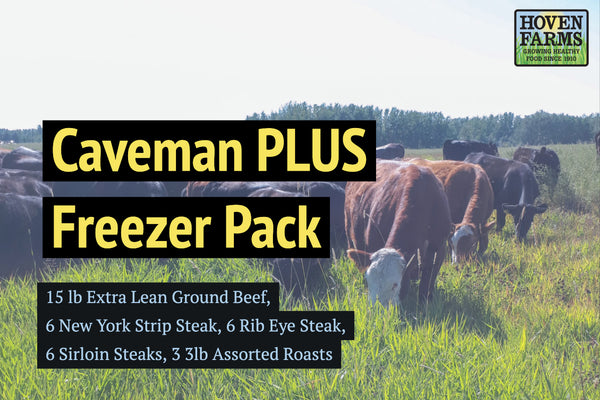 Caveman PLUS Freezer Pack
