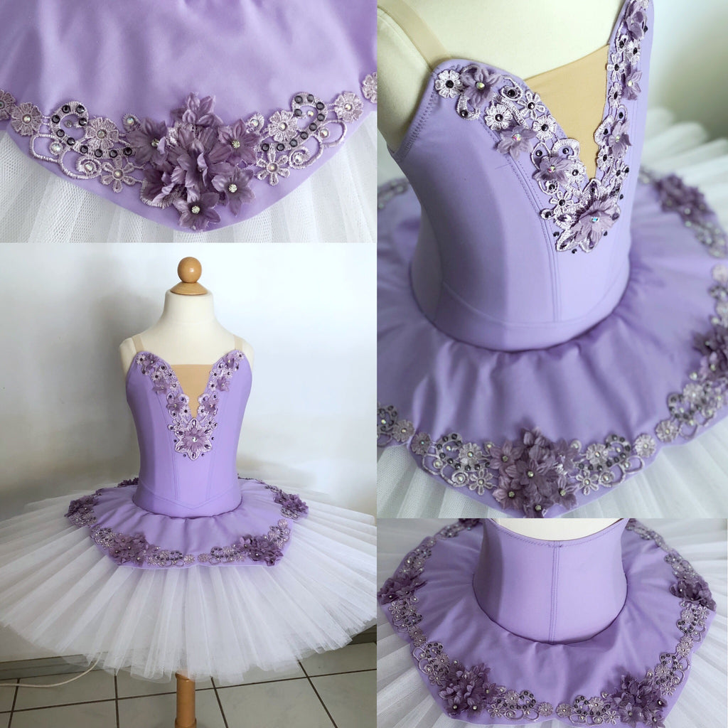 Lilac Tutu size girls 8 to 10