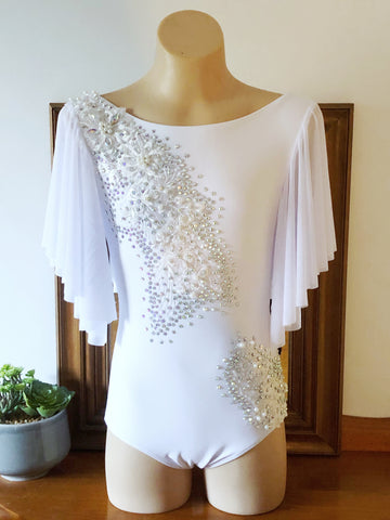 White Lyrical / Contemporary Costume Size 10 child