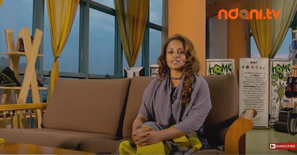 AFRICAN DREAM: CEO & Founder of soleRebels Bethlehem Tilahun Alemu