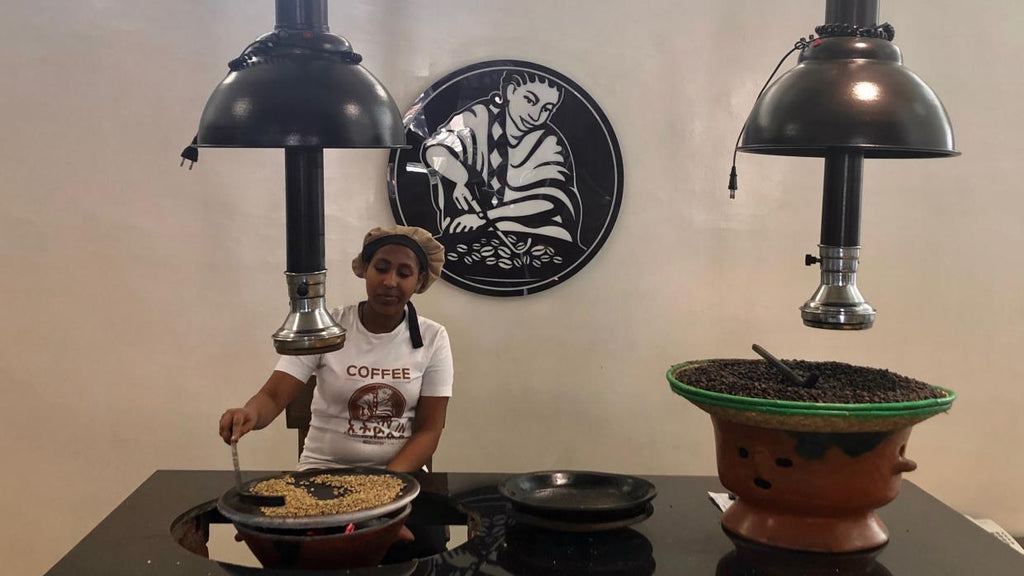 Garden of Coffee featured by Quartz: Exporting Ethiopian Culture