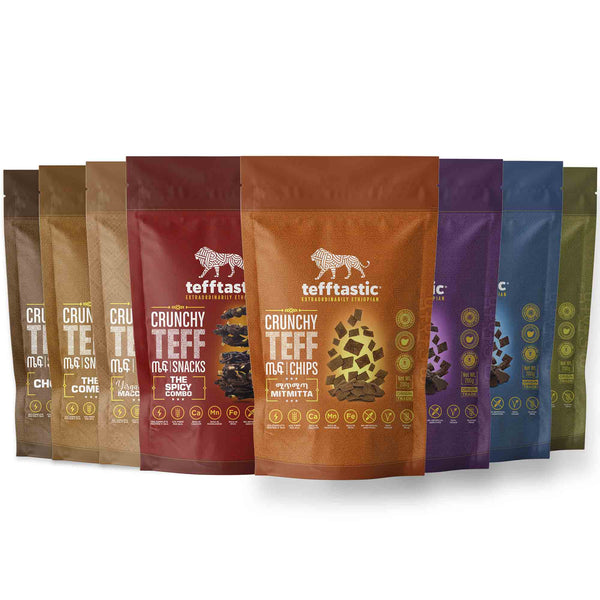 Tefftastic Sample Pack (8-Pack)