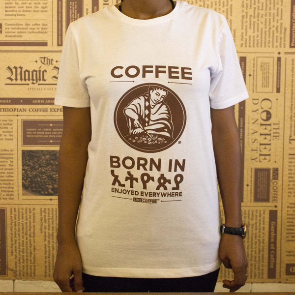 Garden of Coffee Born in Ethiopia