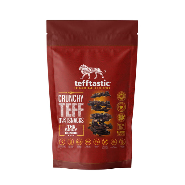 Tefftastic Snacks Multi-Pack - the Spicy COMBO