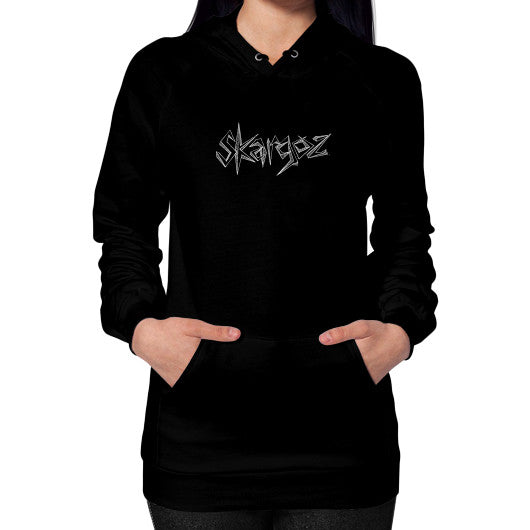 Hoodie (on woman) Black SKARGOZIFY