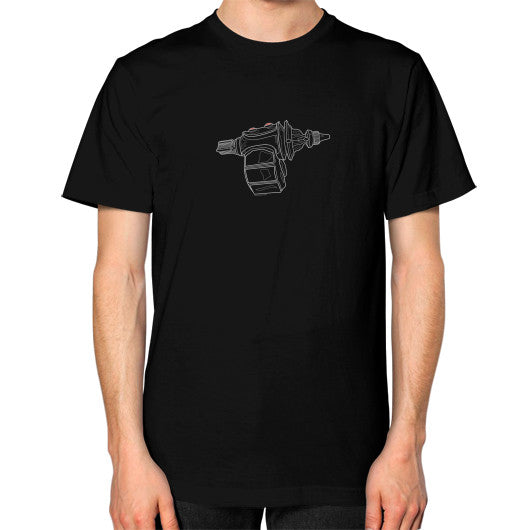 Unisex T-Shirt (on man) Black SKARGOZIFY