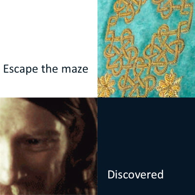 Escape the Maze (Writing Prompts)
