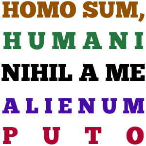 Nothing Human is Alien to Me (Terence Knew) by Stella Elisei