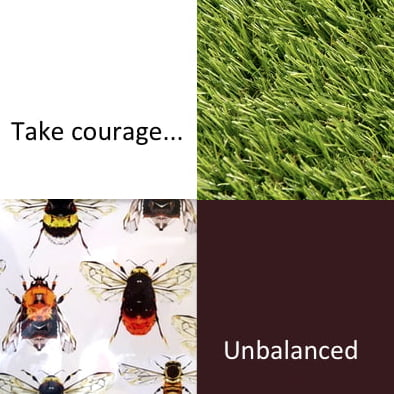 Take Courage (weekly writing challenge with Improble Press)