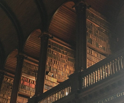 Trinity College Dublin Long Room—Atlin Merrick