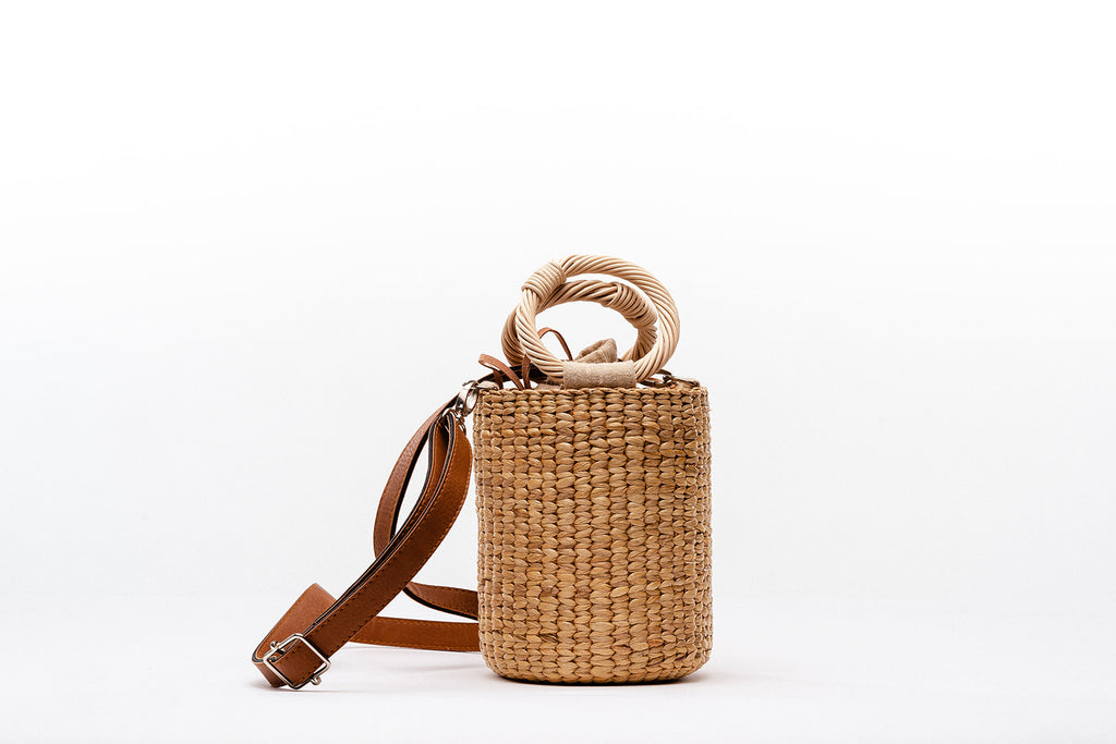 Bamboo Bucket Bag